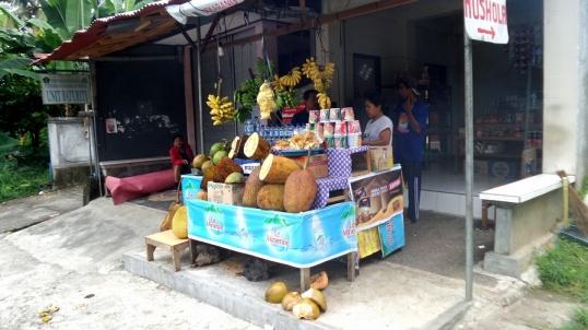 Zöldséges és a durian