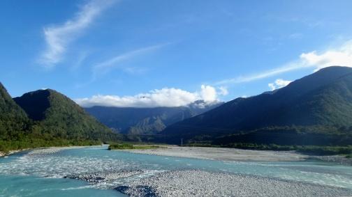 Gleccserből eredő folyó