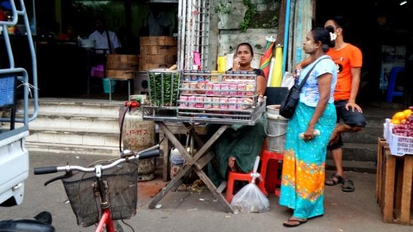 Bétel árus nő