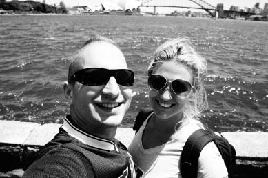 Operaház és Harbor Bridge
