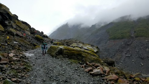 Útban a gleccserhez