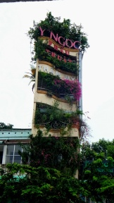 Egy zöld épület